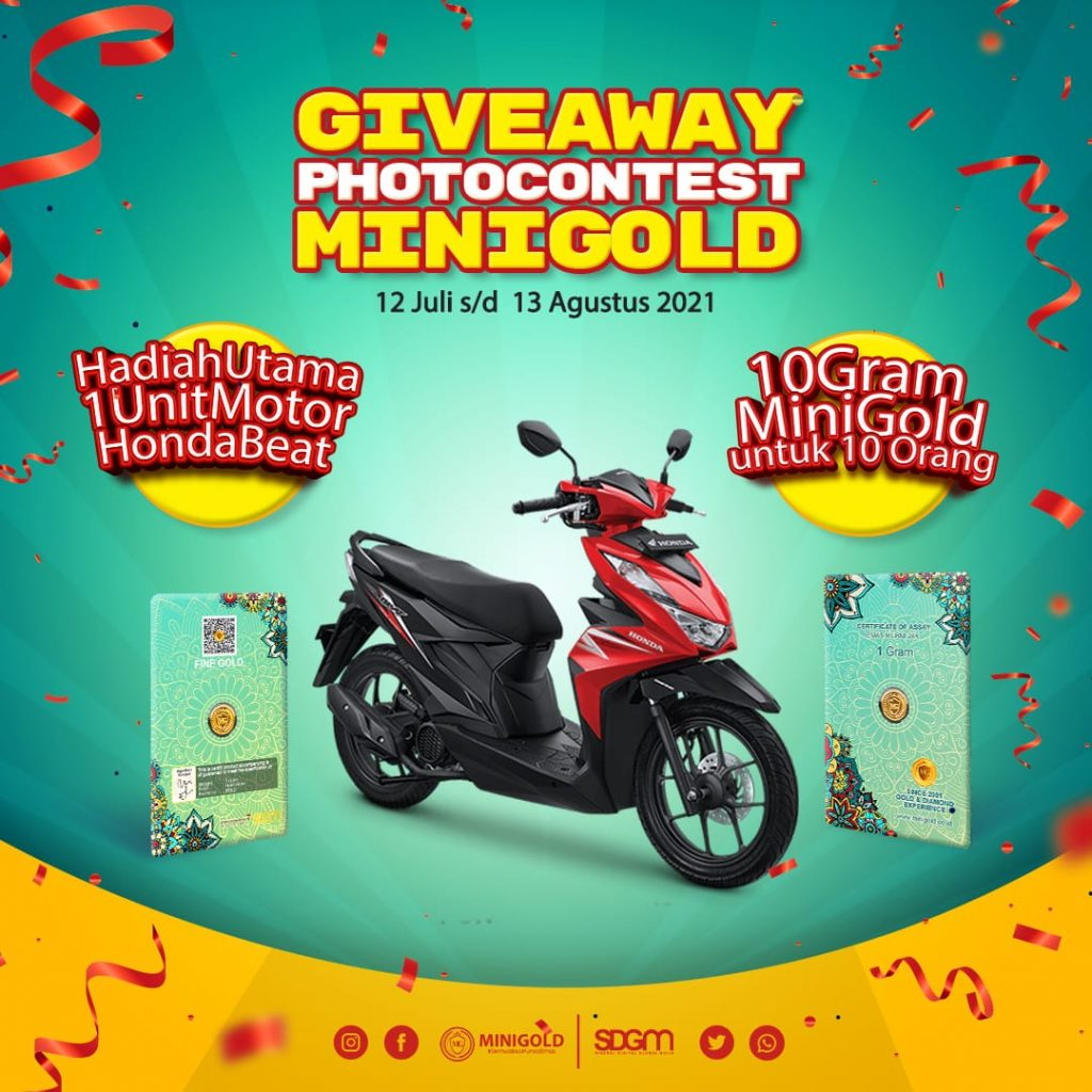 GIVEAWAY AND PHOTOCONTEST MINIGOLD